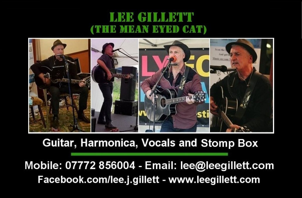 Lee Gillett business card